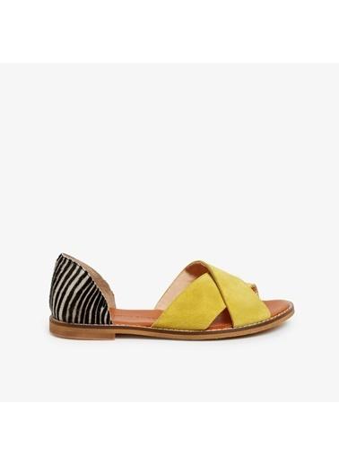 Yargıcı Sandalet Sarı